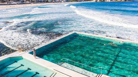 Bondi beach and pool
