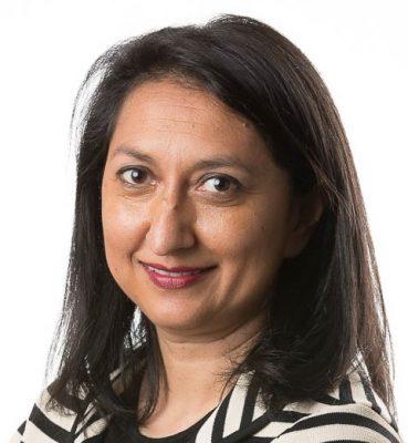 Dr Manisha Amin portrait